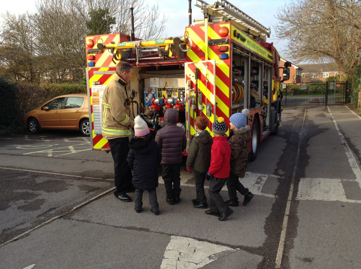 A Fire Engine Visits Rumboldswhyke!